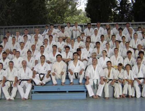 Инструкторские сборы. 2-й европейский международный лагерь федерации Каратэ Киокушинкан