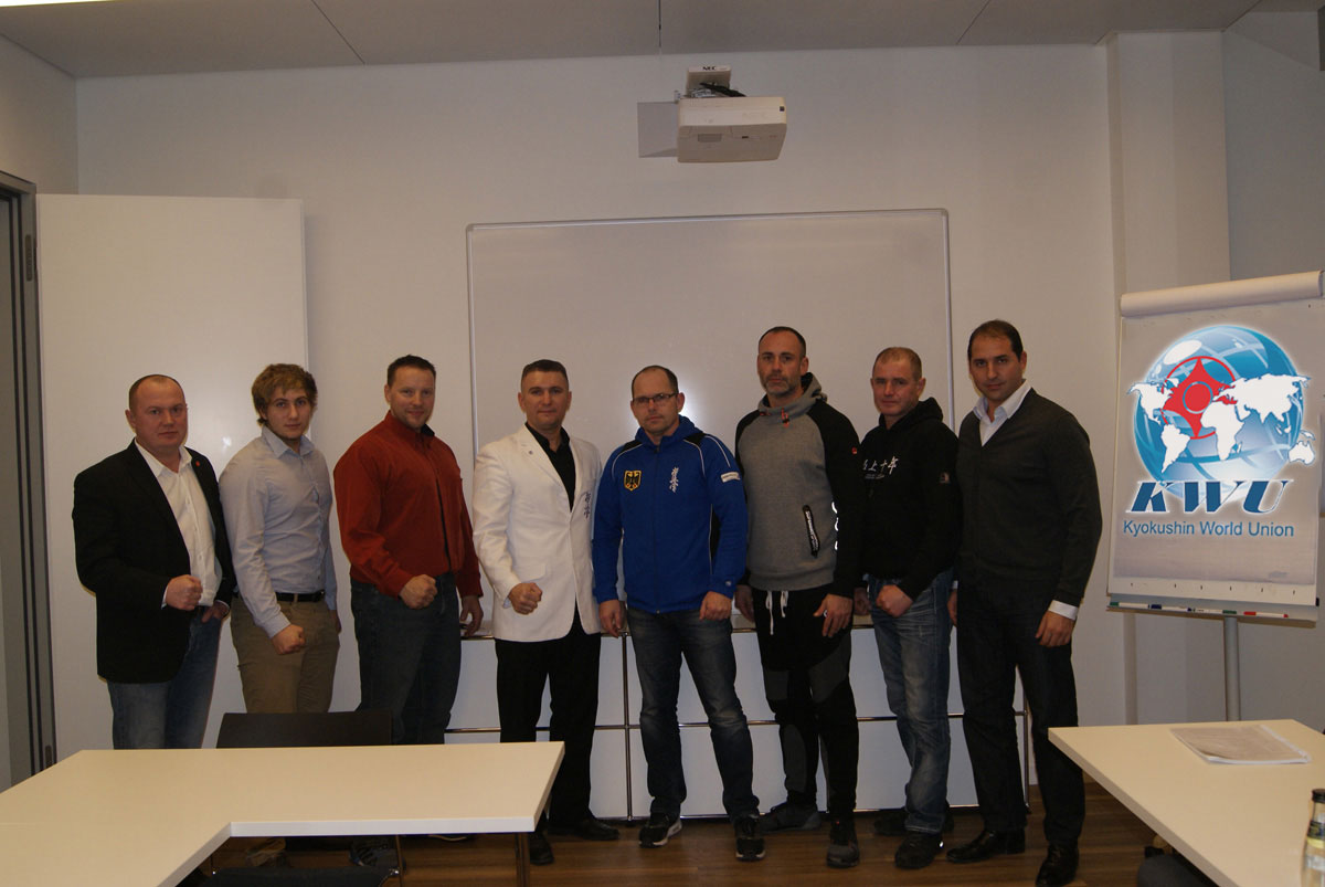 Первое собрание представителей KWU Германии