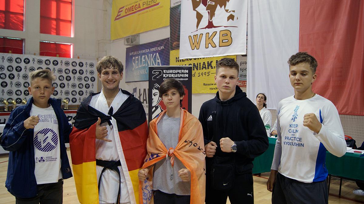 2-е первенство и чемпионат Европы WKB.